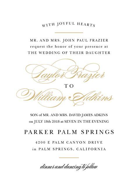 wedding invitation dress code wording invitation