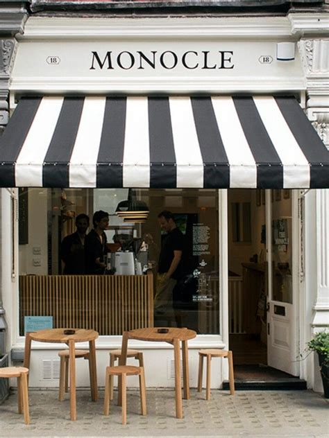 black  white striped awning awnings french cafe decor diy canopy canopy tent