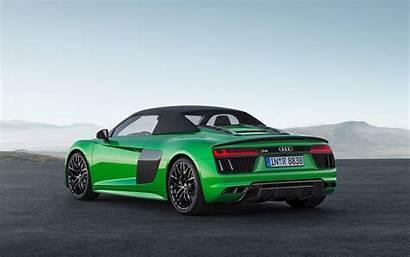 Audi R8 4k Spyder V10 Plus Rear