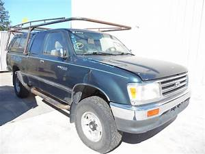 1995 Toyota T100 Sr5 Green Extra Cab 3 4l At 4wd Z18145
