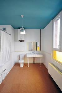 Des idees pour personnaliser sa salle de bain for Peindre plafond salle de bain