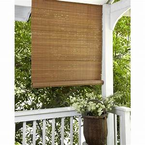 Simple Bamboo Outdoor Shades — Jen & Joes Design : Bamboo