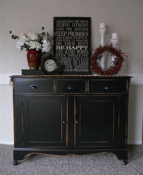 Black Buffet Table Sideboard by Createinspire Black Buffet