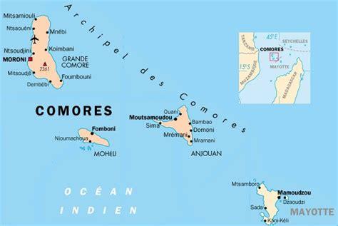 Localisation Mayotte Carte Monde by Carte Comores Carte Du Monde
