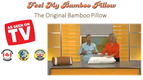 feel my bamboo pillow feel my bamboo pillow