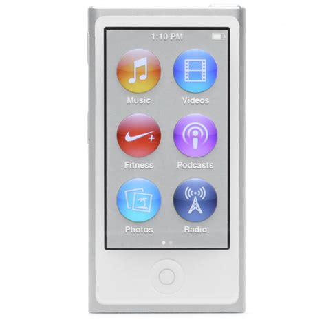 ipod nano generationen ipod nano 7th generation white 16gb 16 gb brand new
