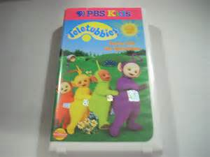 Dance with the Teletubbies VHS 1999
