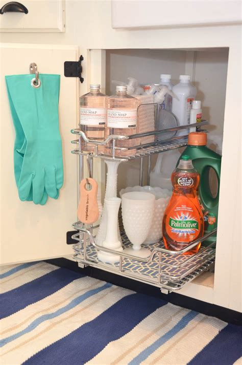 the kitchen sink storage iron twine what s your style series our kitchen 8716