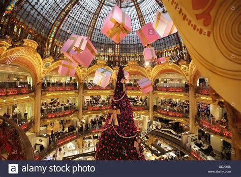 christmas decorations  galeries lafayette department