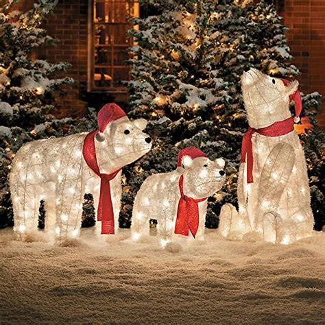 polar bear outdoor yard displays christmas wikii