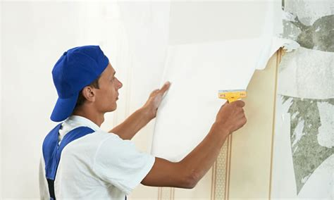 Wallpaper Removal Tools From Painted