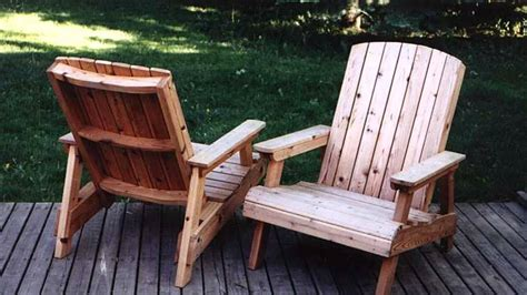 how to build a deck chair