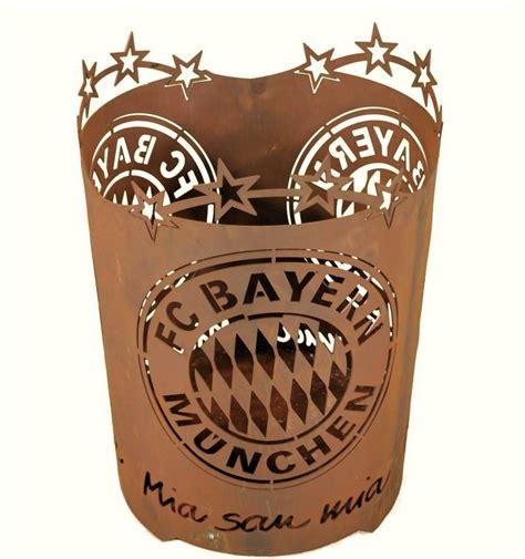 Holz Für Feuerkorb by Offizieller Feuerkorb Des Fc Bayern F 252 R Ihre Fu 223 Ballparty