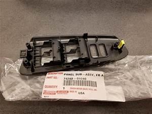 Toyota Tacoma Door Switch Trim Panel  Front