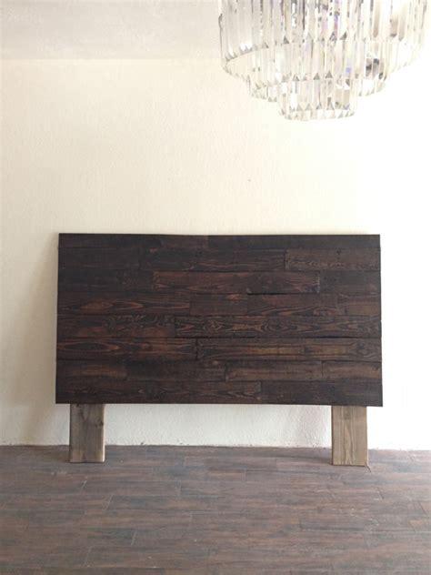 recycled headboard reclaimed recycled wood dark espresso headboard head by kasecustom