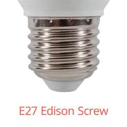 Edison Light Company Number by 2x 6 Watt Led E27 Edison Candle Bulb Cool White