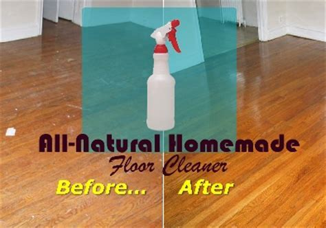 The Best All Natural Homemade Floor Cleaner