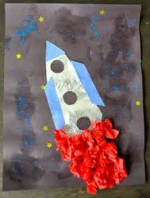 Outer Space Arts and Crafts Preschool