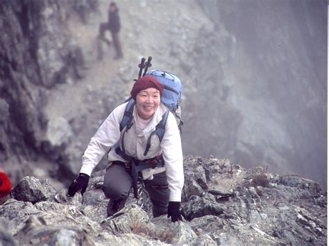 Junko Tabei The First Woman Atop The World The Japan Times