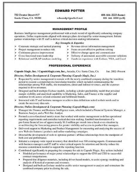 And Development Resume by Corporate Curriculum Vitae Resume Template
