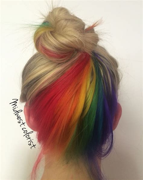 My Favorite Work So Far The Hidden Rainbow Rainbow Hair