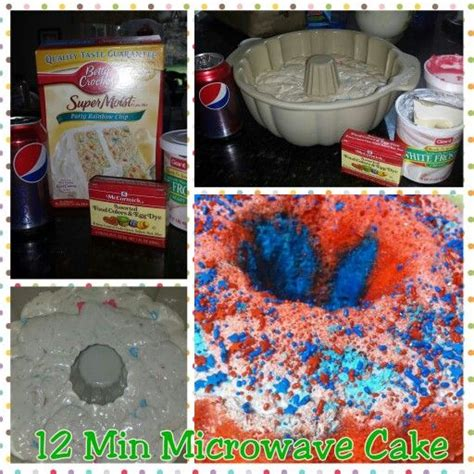 minute diet soda microwave cake mix   large