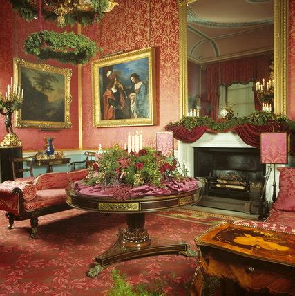 view    room decorated  christmas  tatton