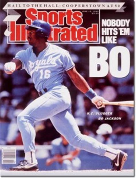 classic sports illustrated covers  career  bo