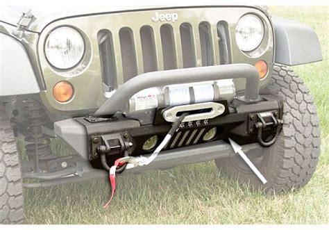 Rugged Ridge Aluminum Bumper by Rugged Ridge Front Xhd Aluminum Winch Bumper Bullbar