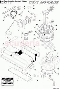Aston Martin Db7 Vantage Coupe Fuel Tank Parts