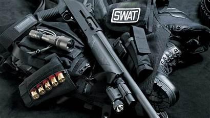 Swat Shotgun Cartridges Ball 1080p Background