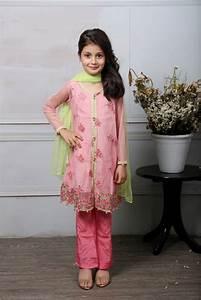 Deepak Design B Fancy Kids Dresses Designs 2018 19 Collection For