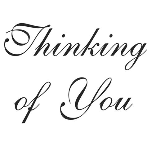 thinking of you clipart rubber st clip cliparts co