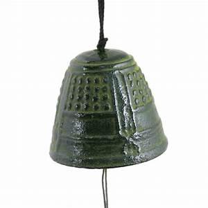 Carillon A Vent : carillon cloche vent en fonte du japon iwachu temple ~ Melissatoandfro.com Idées de Décoration