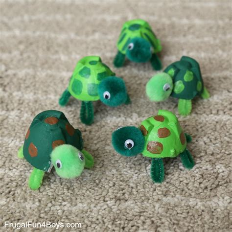 adorable egg turtle craft and a caterpillar and 653 | Turtles 3 Edited