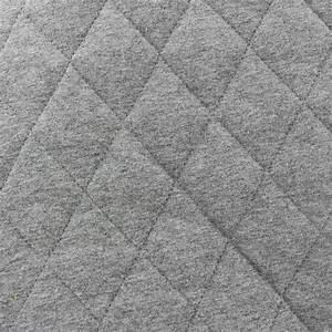 Tissu Gris Chiné : tissu jersey doublure matelass e chin gris x 10cm ~ Teatrodelosmanantiales.com Idées de Décoration