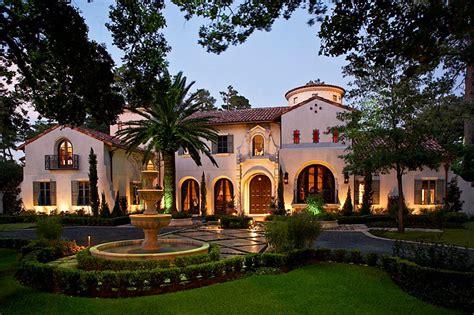opulent mediterranean style mansion in