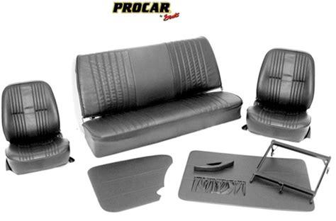Vw Upholstery Kits by Procar Pro 90 Low Back Vw Interior Kit For Sedan