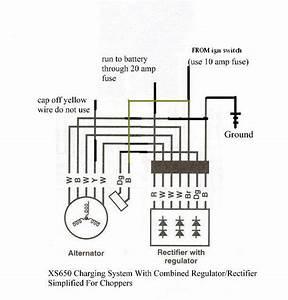 650 Rider  U0026gt   U0026gt  Xs650  U0026gt   U0026gt  Motorcycle Systems  U0026gt   U0026gt  Electrical