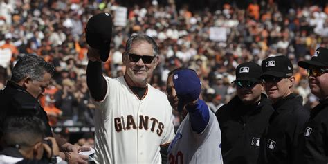 bruce bochy manages final game  giants san francisco