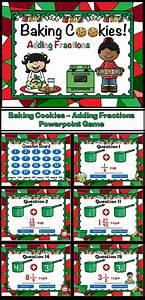 Baking Christmas Cookies Adding Fractions Powerpoint