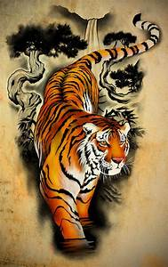 17 Best images about Tiger on Pinterest | Palette knife ...