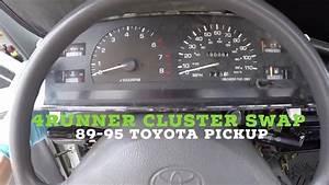 How To Install Toyota Pickup Cluster Sr5 4runner Upgrade