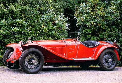 1931 Alfa Romeo 8c 2300 Roadster Red Fsv  Cars Wallpaper