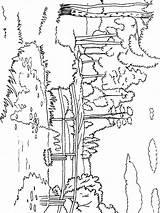 River Coloring Mycoloring Fluss Ausmalbilder Printable Ausdrucken Malvorlagen Kostenlos Zum sketch template