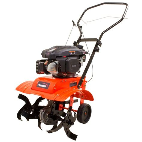 Rototiller Home Depot by Powermate 11 In 150cc Gas Front Tine Tiller Pftt142 The