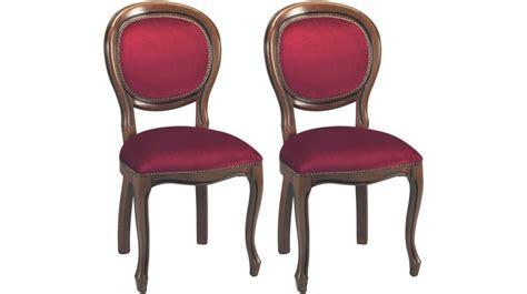 chaise médaillon maison du monde chaises médaillon velours bordeaux chaise médaillon pas cher