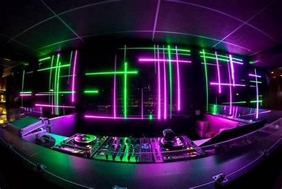 Booth Dj Club Neon Nightclub Night Corporate