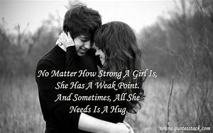 Cute Hug Quotes For Her