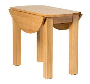 small oak kitchen drop leaf dining table solid wood